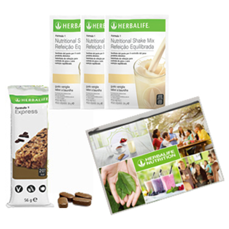 Kit Prova Herbalife Formula 1 + Thermo Complete